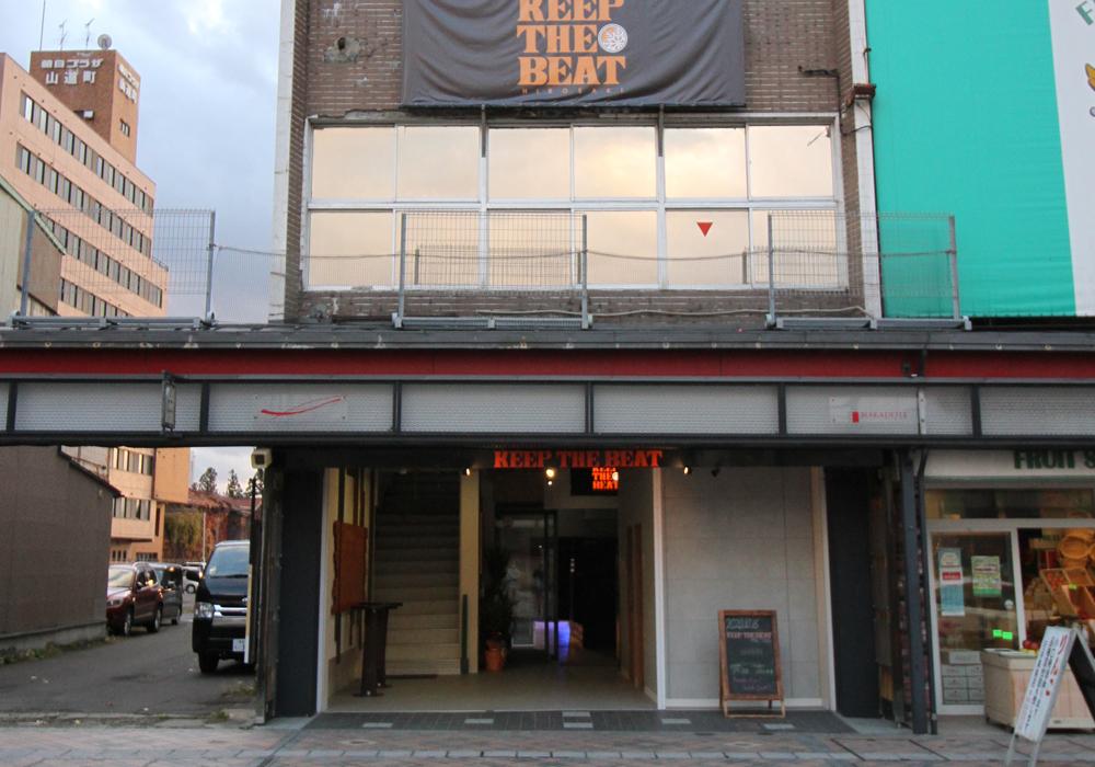 KEEP THE BEAT ライブハウス外観